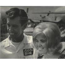1971 Press Photo Walt and Sandi Pierce at Air Age '71 - mjb79036