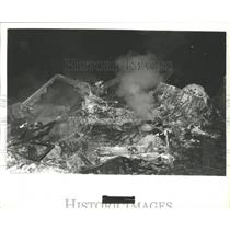 1978 Press Photo Wreckage of Airplane Disaster in Alabama - abna10227