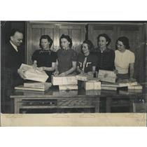1938 Press Photo Opportunity School Packing Training - RRX83165