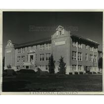 Press Photo Facade of Destrehan High School in Louisiana - noa92812