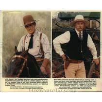 1993 Press Photo Jim Rodgers and Richard Dobberstein in Costume - noa92862