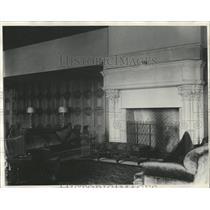 1930 Press Photo Athenaeum Lounge Room Interior - RRX83219