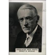 1939 Press Photo Ernest Wilkins educator Black Serious - RRW97589