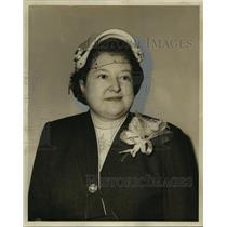 1953 Press Photo Mrs. Jacob Corkland - noo06986