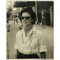 1964 Press Photo Dianne Couch, Bank teller, 11317 Will Stutley - noo07886