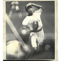 1972 Press Photo Oakland A's Pitcher Vida Blue Returns in Rotation - nos05007