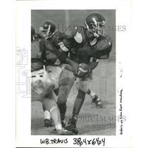 1994 Press Photo Football - Quarterback Travis Williams of Boothville-Venice