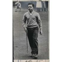 1965 Press Photo Australian Golfer Bruce Crampton at Indianapolis Speedway Open