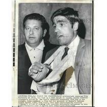 1969 Press Photo Nino Benvenuti, World Middleweight Champion in New York