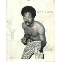 1971 Press Photo Boxer Adrian Davis - nos08677