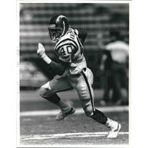 Press Photo San Diego Chargers football running back Gary Anderson - sas02063