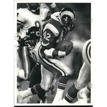 Press Photo Los Angeles Rams football running back Greg Bell - sas02071