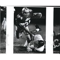 1989 Press Photo Marshall and McCollum play a high school football game