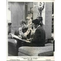 1963 Press Photo Paramount presents Who's Got The Action? with Nita Talbot