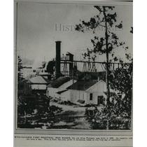 1875 Press Photo Alice Furnace, iron maker, Birmingham - abna12977
