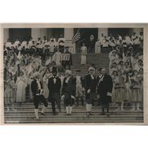 """1920 Press Photo """"The Spirit of Temperance"""" is a Pageant Depicting Constitution"""