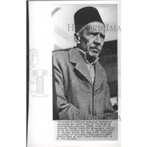 1952 Press Photo Barkat Ali Khan, Nizam of Hyderabad, in 1952 - mjb72519