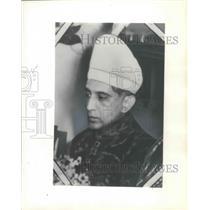 1955 Press Photo Muzzam Jah, son of the Nizam of Hyderabad (India) - mjb72524