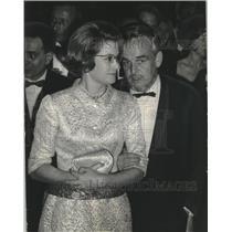 1966 Press Photo Prince Rainier and Princess Grace in Milan Italy - mjb85449