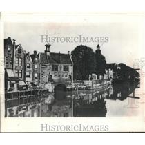 1970 Press Photo Delfshaven, The Netherlands-Pilgrims Home before Mayflower trip