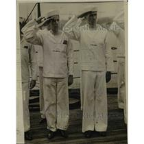 1916 Press Photo Citizens Sailors E.C. Moran and H.McAdoo on the U.S.S. Maine