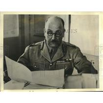 1940 Press Photo Sir Henry Maitland Wilson Is The Commander of the Ninth Army