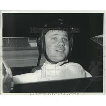 1967 Press Photo Sports Car Racing Driver Mark Donohue - nos09673