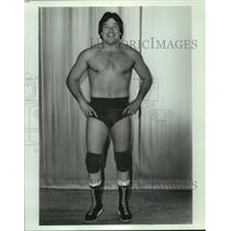 1982 Press Photo Ted DiBiase, professional wrestler. - noa94158