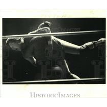 1980 Press Photo Ted DiBoise, professional wrestler. - noa94996
