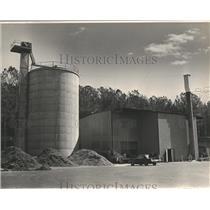 1983 Press Photo Wood-Burning Furnace of Montevallo University, Alabama