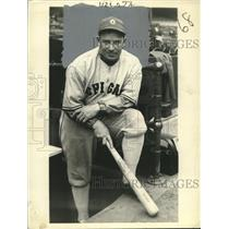 1935 Press Photo Chicago White Sox Manager Jimmy Dykes - nox17388