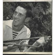 1950 Press Photo Golfer Fred Blackmar - sas02805