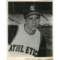 1963 Press Photo Kansas City Athletics baseball pitcher Ed Rakow - sas02897