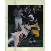 1995 Press Photo Kevin Faulk, football player - noa99652