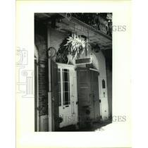 1995 Press Photo Faulkner House Books, Pirate Alley, New Orleans, Louisiana