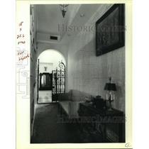 1990 Press Photo Faulkner House Books, Interior, Pirate Alley, New Orleans