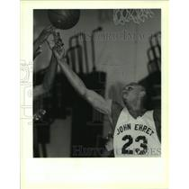 1995 Press Photo Ehret High School - Kenneth Forges, Basketball Player, Marrero
