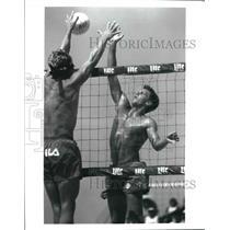 Press Photo Kent Steffes, Volleyball - sas02986