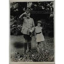 1935 Press Photo General Jotaro Watanabe, Japanese Military Education Head