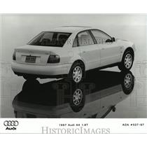 Press Photo Rear View of 1997 Audi A4 1.8T - not01110