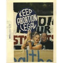 1992 Press Photo Abortion Protests - RRW41803