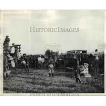 1933 Press Photo Philadelphia National Guardsmen in Field - nem50961
