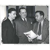 1942 Press Photo United Auto Workers Union Delegates