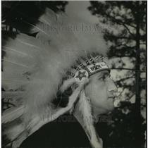 1972 Press Photo Chief McGhee, head of Alabama's Creek Nation