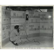 1958 Press Photo Montgomery, Alabama Courthouse - abna16054