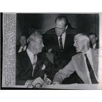 1964 Press Photo GOP Caucus Civil Rights Discussion - RRX23411