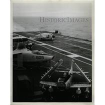 1964 Press Photo Navy Vessels Aircraft carriers Midway - RRX72123