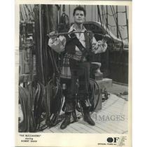 """1959 Press Photo Actor Robert Shaw stars in """"The Buccaneers"""""""