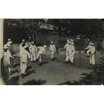 1918 Press Photo United States Navy Athletics - nem51972