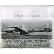 1955 Press Photo Lockheed V-3 radar aircraft delivered to United States Navy